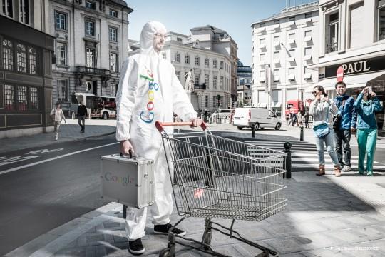 Google Man makes you shop